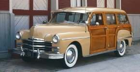 "The 1949 Plymouth ""woodie"" wagon sold only 3,443 copies. See more pictures of Plymouth cars."