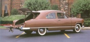 The 1951-1953 Kaiser Traveler, first seen in 1949, could be thought of as the granddaddy of the modern hatchback. See more classic car pictures.