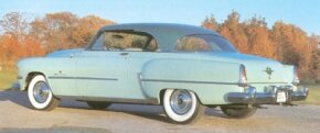 One of the Chrysler Imperial variations -- the 1954 Chrysler Imperial Newport hardtop -- was listed at $4,560, but only 1,249 were built.