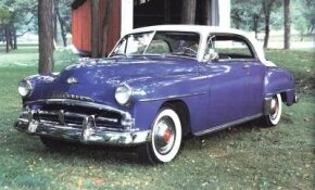 "Belvedere styling changed little for 1952, but new ""saddleback"" two-toning freshened its appearance."