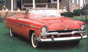 "Sexy ""Forward Look"" styling made Plymouth much more competitive with Ford and Chevy for 1955."