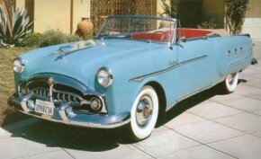 Approximately 1,000 Packard 250 convertibles were sold in 1952. See more classic car pictures.