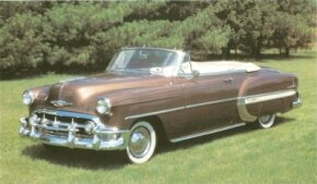 The 1953 Chevrolet Bel Air convertible was the costliest Bel Air at $2,175. See more classic car pictures.