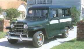 Production of the 1953 Jeep Station Wagon climbed to over six thousand units.