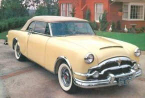 The hood scoop on the 1953 Caribbean was a carryover from the Pan American concept.