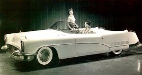 The Buick Wildcat is seen here as General Motors photographed it in 1953. See more classic car pictures.