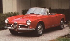 Those who desired a Giulietta with something extra opted for the Veloce model, with its lightweight body panels and dual carburetors. This one is from 1962.