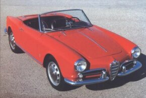 The basic Giulietta Spider was powered by a 1.3-liter four-cylinder engine that was good for 80 horsepower by the time this 1959 first hit the road.