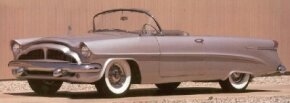 Only four 1954 Packard Panther Convertibles were produced, all of them essentially hand built. See more classic car pictures.