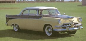 The 1956 Dodge D-500 sported modest fins and revised two-toning.