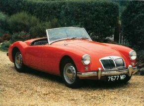 The MGA body was unchanged (except for details like the grille and lights) during the entire September 1955 to June 1962 production run.