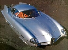 The 1955 Alfa Romeo Bertone BAT 9 had a futuristic design. See more classic car pictures.