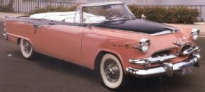 "The 1955 Dodge Custom Royal Lancer Convertible embodied Virgil Exner's ""Forward Look."" See more classic car pictures."