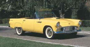 The 1955 Ford Thunderbird convertible is an enduring                              American classic. See more pictures of classic cars.