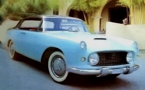 The design of the 1955 Lancia Florida was worked on by just a handful of draftsmen and modelers.