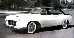 The four-door 1955 Lancia Florida hardtop sedan debuted in September 1955.