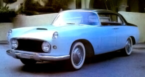 A restored left-hand drive 1955 Lancia Florida hardtop sedan. Shown at Turin in the spring of 1956, it was sold to U.S. car importer Kjell Kvale, then stored for some 15 years. See more classic car pictures.