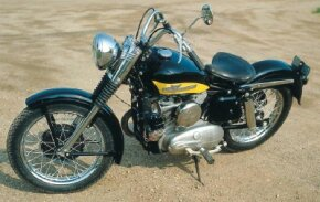 The K series replaced the aging WL and was the first street HarleY with a rear suspension.