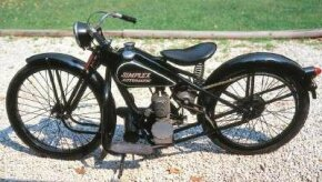 Simplex motorcycles were built in New Orleans until 1960 and are the only motorcycles ever built in the South.
