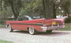 The 1957 Chrysler New Yorker stunned the automotive world with its daring finned design. See more classic car pictures.