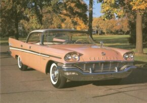 The top-of-the-line 1957 Chrysler New Yorker sold for $4,202 as a two-door hardtop and $4,259 as a four-door hardtop -- a hefty price tag for its day.