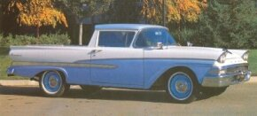 The Ford Ranchero was designed to be low, wide, and aerodynamic.