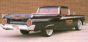 In 1958 Ford added Cruise-O-Matic to the Ranchero.
