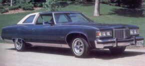 Bonneville returned to the top of the Pontiac line for 1976.
