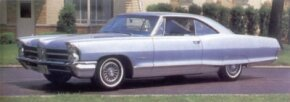 The Pontiac Bonneville bulked up in size but not weight for 1965, and the Sport Coupe became a semi-fastback.