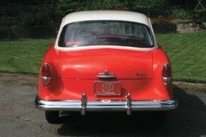 The 1955 Nash Rambler taillamps were retained for the 1958 Rambler American, but turned upside down.