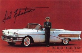 A 1958 Limited convertible was modified to be the Wells Fargo for actor Dale Robertson