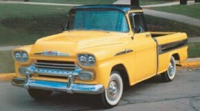 The 1958 Chevrolet Cameo Carrier's smooth-sided styling was mimicked by that year's new Fleetside bed design for the standard pickups. See more classic truck pictures.