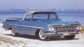 The 1959 Chevrolet El Camino was given a Spanish name, just like its rival, the Ford Ranchero.