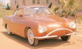 "Image Gallery: Concept Cars The 1959 Charles Townabout concept car put its electric powertrain in a fiberglass body based on the Volkswagen Karmann-Ghia. It was dubbed the ""volts wagon."" See more pictures of concept cars."