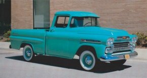 Chevrolet's Fleetside pickups took over in late 1958 from the Cameo Carrier as Chevy's sporty pickup. Pictured is a 1959 Chevrolet Fleetside pickup. See more classic truck pictures.