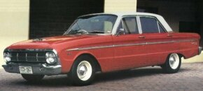 """The U.S. Falcon was totally rebodied for 1964 but the XM Falcon released """"Down Under"""" that year wore a heavy facelift of the XL body."""