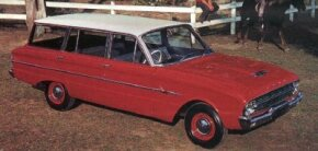 The XL generation Ford Falcon arrived in 1962.