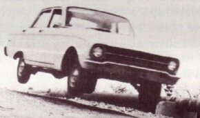 Before Ford Australia had its own private test circuit, the trials necessary to adapt the Falcon to local conditions had to be carried out on public roads.