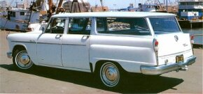 Checker station wagons were offered throughout the decade. This version was from 1965. See more classic car pictures.