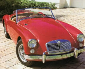 The 1960 MGA 1600 Roadster coupled good looks with superb handling and a sleek design. See more classic car pictures.