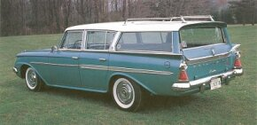 Styling of the 1961 AMC/Rambler Ambassador was radically changed from earlier models.
