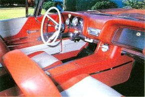 Like the Thunderbird in general, interiors were leaning more toward luxury than sport by this time.