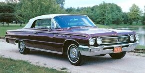 Another Buick Electra restyle appeared for 1962 after sales dropped off the previous year. Production rebounded past 1960 levels.