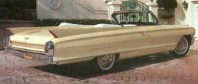 The range of 1961 and 1962 Cadillac models included a two-door convertible.