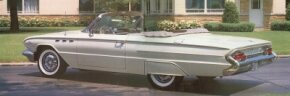 Almost 12,000 Buick LeSabre soft top convertibles were sold in 1961. See more classic car pictures.