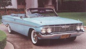 Chevrolet introduced the Bel Air convertible in 1961 to go along with the hardtops in the series. See more classic car pictures.