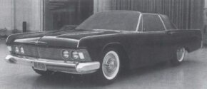 "Elwood Engel elected to not show this ""radical"" version of a 1961 Ford Thunderbird design to Ford's Product Planning Committee."