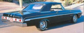 The 1964 Polara 500 option cost $170, bringing the starting price of a convertible so equipped to $3,227.