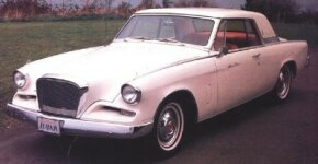 The 1962 Studebaker Gran Turismo Hawk had a very clean design with hints of European style.