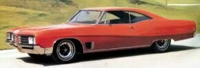 The 1968 Wildcat hardtop coupe started at $3,521.